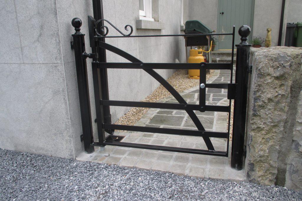 Pedestrian gate with swivel latch, Craughwell, Co Galway